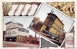 H63/ Grand Rapids Michigan Postcard c1910 Voigt Mills Crescent Flour Fancy  45