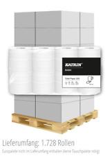 KATRIN Basic Toilet 250 Toilettenpapier Klopapier Kleinrolle 2-lagig 64 Rollen