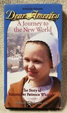 DEAR AMERICA A Journey to the New World VHS Video Tape SCHOLASTIC 1620 VGC