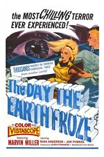 "The Day The Earth Froze Sci-Fi Movie Poster 12"" X 18"""