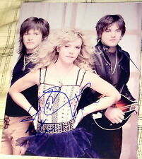 """THE BAND PERRY SIGNED AUTOGRAPH FULL """"IF I DIE YOUNG"""" PROMO ART 8X10 PHOTO COA"""