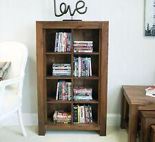 Mayan solid dark wood walnut home furniture CD DVD storage cabinet cupboard rack