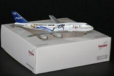 """JAL Japan Airlines 747-400D Reg:JA8908 """"World Cup 2002"""" Herpa 1:400 Sample Model"""