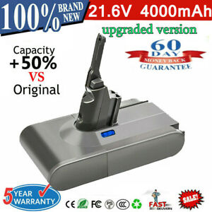 for Dyson V8 Replacement Battery Real 4000mAh 21.6V Lithium Battery Absolute UK