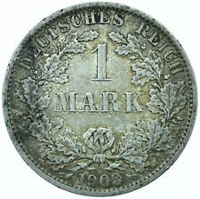 1903A GERMANY 1 SILVER MARK / NICE COLLECTIBLE COIN   #WT28074