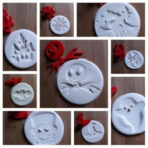 3D Printed Halloween Cookie Stampers