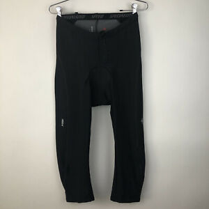 Specialized Cycling Padded Capri Pants XL Black Compression