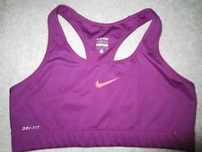 Nike Pro señoras Sujetador Deportivo púrpura grande