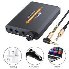 Portable Audio HIFI Headphone Amplifier Earphone AMP + 3.5mm Audio USB Cable