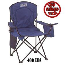 Heavy Duty Folding Chair Portable Camping Outdoor Oversized Beach 400lb Capacity