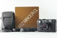 【TOP MINT in BOX】 Leitz Minolta CL Film Camera Leica M Mount 40mm F2 from JAPAN