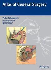 Atlas of General Surgery, Schumpelick, Volker, Good Book