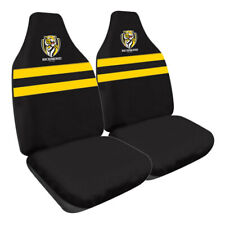 Richmond Tigers Official AFL Team Logo Car Seat Covers Size 60