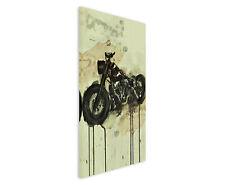 90x60cm PAUL SINUS Splash Art Gemälde Harley Davidson Hobby Geschenkartikel