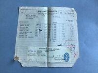 Chivers & Son Ltd 1947 Marmalade Jam Cambridge  receipt   R34888