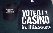 Black Lumiere Place Casino Baseball Style Hat & T Shirt - St Louis Casino - NEW