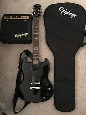 Epiphone SG Special Electric Guitar (with amp)