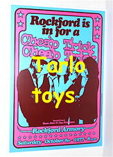 Cheap Trick - Rockford, Us - 8 october 1977 - concert poster