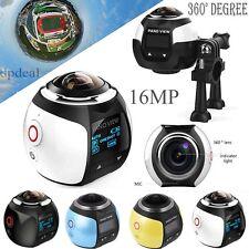 360 Degree 4K Wifi Panoramic Camera 2448*2448 16MP HD Sports Action VR Camera
