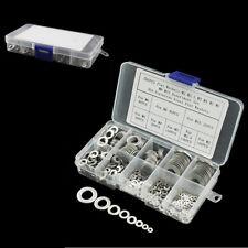 500PCS 8 Arten Edelstahl flache Unterlegscheiben Sortiment Kit M2 - M10 Auto