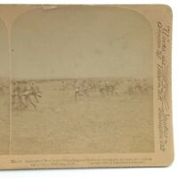 Underwood New South Wales Bushmen Stereograph Slide 3D Real Photograph J061