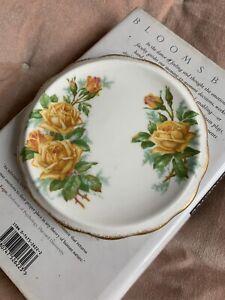"Vintage English Bone China Royal Albert ""Tea Rose"" Teapot Stand Trivet Tile"