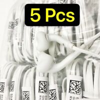 5 Pack Headset Earphone Earbud For Samsung Galaxy S6 S7 Edge S8 S9 + Note 8