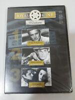 JOYAS DEL CINE WESTERN DVD 3 LA LEY DE FUERZA - RABIA INTERIOR - FORAJIDO nueva