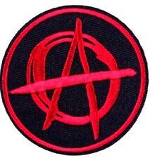 Anarchy patch Punk Biker Rocker iron sew on Button Sex Heavy Rock n roll Pistols