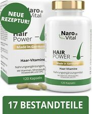 Haar Vitamine - Mit Biotin & Hirse 120 Kapseln Baartwuchs Haarwuchs