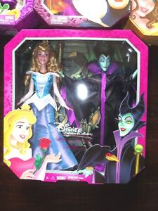 Mattel DISNEY Signature Collection Sleeping Beauty & Maleficent Doll Set