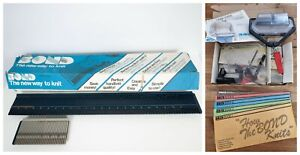 Bond Knitting Machine + Accessories Books 1-5 Untested Vintage