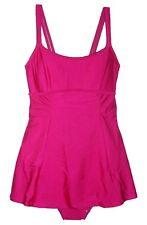 New Aliana Swim Women's  Swimdress Swimsuit Hot Pink Size 6 Bathing Suit