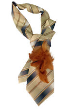 Tie women's. Silk 100% Italy. Collar, necklace, necktie. Hand-made