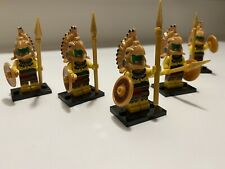"LEGO Collectible Minifigure #8831 Series 7 ""AZTEC WARRIOR"" Lot Of 5 - Aztec Army"