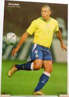 Ronaldo + Fußball Nationalspieler Brasilien + Fan Big Card Edition D30 +