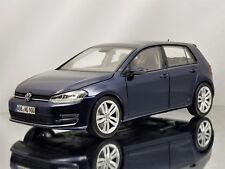 Norev Volkswagen VW Golf VII 2013 Night Blue Diecast Model Car 1:18