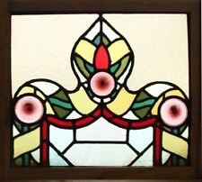 ORIGINAL GOTHIC ENGLISH STAINED GLASS WINDOW