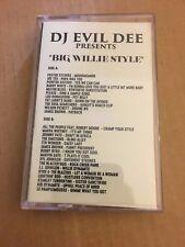 DJ EVIL DEE Big Willie Style CLASSIC 90s Hip Hop NYC Cassette Mixtape Tape