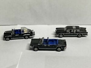 Micro Machines Luxury Presidential Limousines LOT, Galoob 1989