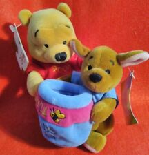 THE DISNEY STORE BEANIE MBB POOH FRIENDSHIP DAY 2000 - PRE OWNED - TAGS