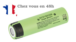 Panasonic rechargeable NCR18650B Li-Ion 3.7 V LIVRAISON 48H