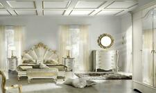 Schlafzimmer 3 tlg. Set Bett 2x Nachttisch Konsole Betten Doppel Hotel Polster