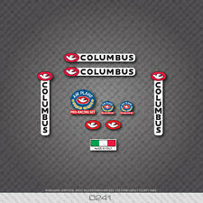 0241 Columbus AIR PLANE PRO RACING Bicycle Frame and Fork Stickers - Decals