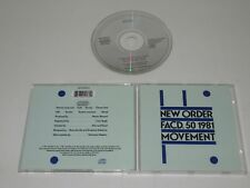 NEW ORDER/MOVEMENT(LONDON 857381953-2) CD ALBUM