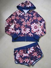 Victoria Secret 2 Piece Outfit / Zip Hoodie & Detailed Comfy Shorts / RARE / NEW