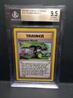 Pokemon 2000 Neo Genesis 1st Edition Pokemon March BGS 9.5 Gem Mint