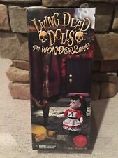 Mezco Living Dead Dolls SDCC Alice A Drink To Shrink And Cake To Grow Rare NIB