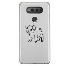 Cute Pig Sticker Die Cut Decal mobile cell phone Smartphone iPhone LG Decor Cup