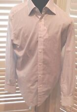 $450 ISAIA Men Italy Made Dress Shirt 17 43